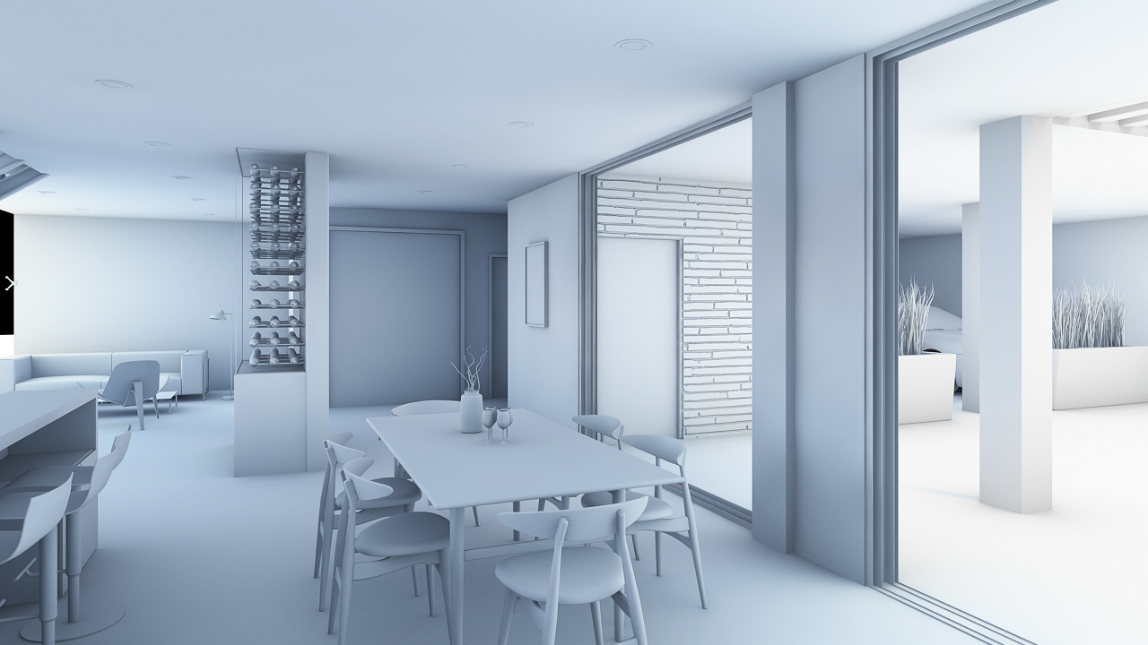 Render Arquitectura Casa Villa V