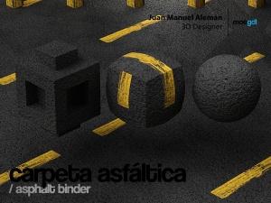 carpeta asfaltica / asphalt binder