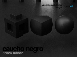 caucho negro / black rubber