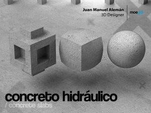 concreto hidráulico / concrete slabs
