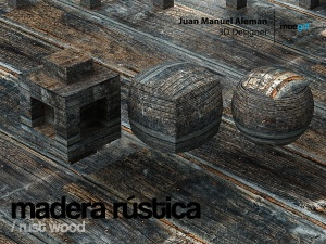 madera rustica / rust wood
