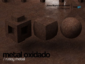 metal oxidado / rusty metal