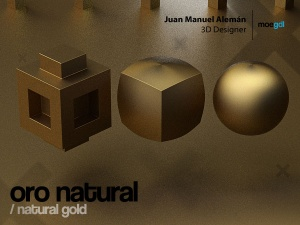 oro natural / natural gold