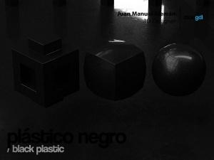 plastico negro / black plastic