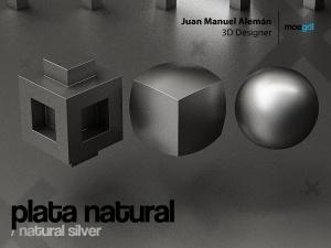 plata natural / natural silver