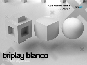 triplay blanco / white plywood
