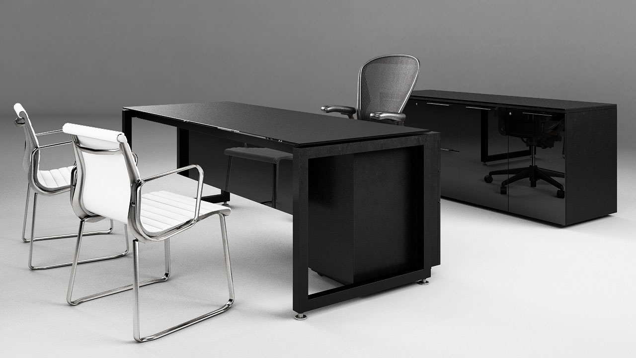 Muebles de oficina archives 3d render portfolio moegdl for Muebles de oficina studio 3