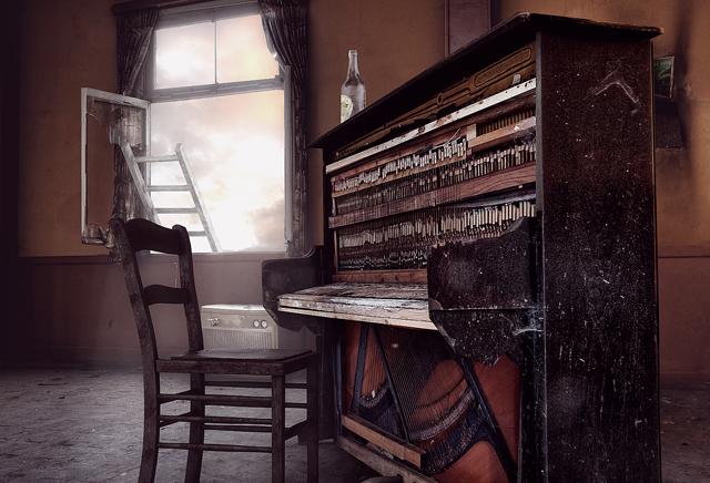 Render Animation Piano Bar